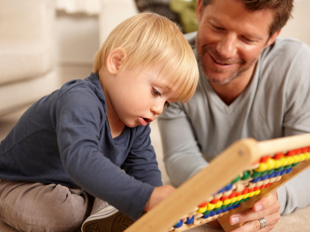 Ребенок учится считать