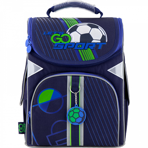 Рюкзак GoPack Education каркасный 5001-10 Football
